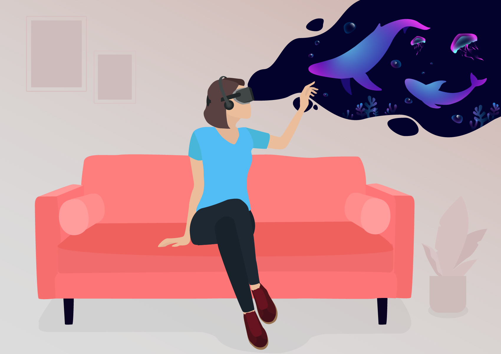 how to create a virtual reality app